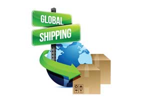 we ship international